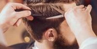 <b>Скидка до 50%.</b> Мужская или детская стрижка, оформление икоррекция бороды, камуфляж седины отбарбершопа Kingsman