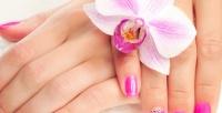 <b>Скидка до 55%.</b> Маникюр ипедикюр спокрытием гель-лаком встудии ногтевого сервиса Nails