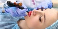 <b>Скидка до 71%.</b> Перманентный макияж губ, бровей или век всалоне красоты «Ягода»