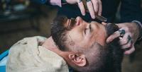 <b>Скидка до 60%.</b> Мужская стрижка ибритье бороды, подростковая стрижка вбарбершопе :КультЪ: