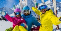 <b>Скидка до 50%.</b> Целый день развлечений сбезлимитным Ski-pass ипрокатом спортивного инвентаря нагорнолыжном курорте Moon Village Club