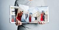 <b>Скидка до 68%.</b> Печать фотокниги втвердой обложке или фотокарточек