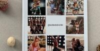 <b>Скидка до 50%.</b> Печать фотокниги InstaBook cмоментальным макетом изпрофиля Instagram отсервиса Happybook