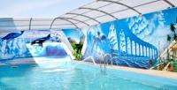 <b>Скидка до 40%.</b> Отдых вКраснодарском крае спосещением термального бассейна иарендой мангальной зоны воздоровительно-гостиничном комплексе «Коралл-Family»