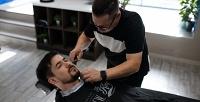 <b>Скидка до 50%.</b> Мужская или детская стрижка, бритье опасной бритвой зоны навыбор либо оформление бороды отбарбершопа Hestory