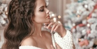<b>Скидка до 74%.</b> Стрижка, укладка волос сконсультацией мастера, окрашиванием, мелированием, колорированием, полировкой, ламинированием, биоламинированием, химической завивкой или без всалоне красоты Pauline