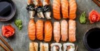 <b>Скидка до 53%.</b> Роллы или сет отсуши-бара Sushi Bar Chef