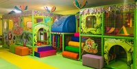 <b>Скидка до 65%.</b> До5часов посещения детской игровой площадки для одного или двух детей отдетского развлекательного центра «Маленький принц»