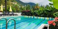 <b>Скидка до 35%.</b> Отдых вАбхазии сзавтраками, посещением подогреваемого бассейна иразвлечениями вотеле Sunrise Garden Hotel