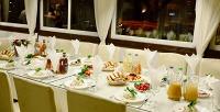 <b>Скидка до 54%.</b> Проведение банкета ссалатами, основными блюдами, десертами инапитками вкафе-ресторане «Гурман»