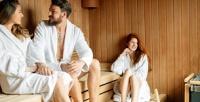<b>Скидка до 51%.</b> Отдых скараоке, посещением сауны иджакузи либо романтический отдых вклубе «Сказка»