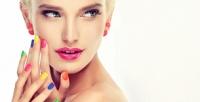 <b>Скидка до 75%.</b> Маникюр ипедикюр спокрытием Shellac иSPA-программой, коррекция или наращивание ногтей гелем всалоне красоты «Жемчуг»