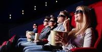 <b>Скидка до 53%.</b> Аренда кинотеатра сэкраном в245 дюймов для отдыха спросмотром фильмов, коктейлями ипиццей вкиноруме музея «ЭйнштейниУм»