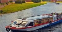 <b>Скидка до 76%.</b> Утренняя, дневная или ночная прогулка «Разводные мосты» натеплоходе откомпании «Речной трамвай Санкт-Петербурга»