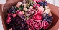 <b>Скидка до 51%.</b> Букет изкенийских роз встильной упаковке сатласной лентой или композиция изцветов нагубке