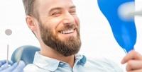 <b>Скидка до 89%.</b> Комплексная гигиена полости рта, реставрация передних зубов, лечение кариеса иустановка пломбы встоматологической клинике «Доктор Каро»