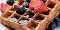 <b>Скидка до 52%.</b> Бельгийская или гонконгская вафля счаем или кофе откафе Too Good for Food