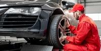 <b>Скидка до 50%.</b> Шиномонтаж колес радиусом отR12доR22,5легковых или грузовых автомобилей откомпании Tiretorg