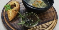 Блюда инапитки вресторане «Город» соскидкой50%