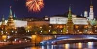 <b>Скидка до 50%.</b> Речная прогулка коДню города Москвы с музыкальной программой, спросмотром праздничного салюта иужином натеплоходе «Соболь», «Августина» или «Алексия» отсудоходной компании «Августина»