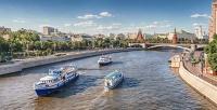 Утренняя прогулка натеплоходе поМоскве-реке помаршруту отпричала «Кленовый Бульвар» допричала «Большой Устьинский мост» отсудоходной компании Flyriver (149руб. вместо 298руб.)