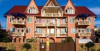 <b>Скидка до 50%.</b> Отдых вцентре Адлера напобережье Черного моря вмини-отеле «Вилла замок»