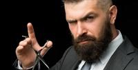 <b>Скидка до 66%.</b> Мужская, детская стрижка, стрижка, бритье или моделирование бороды вбарбершопе GaGara Project «Подвал»