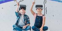 <b>Скидка до 50%.</b> 30или 60минут игры вшлеме виртуальной реальности откомпании «Ozквесты иразвлечения»