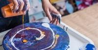 <b>Скидка до 55%.</b> Мастер-класс посозданию картины эпоксидной смолой, рисованию жидким акрилом, декорированию предметов интерьера или курс побарельефу оттворческой мастерской Artschool