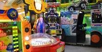 <b>Скидка до 60%.</b> Игровая карта напосещение зоны аттракционов иигровых аппаратов всемейном развлекательном центре «Планета Игр» вТРК «Невский»