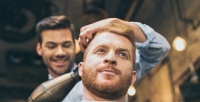 <b>Скидка до 61%.</b> Мужская стрижка, моделирование или стрижка бороды иусов вбарбершопе Wo.Man