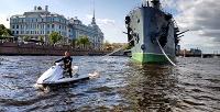 <b>Скидка до 50%.</b> Прокат спортивно-туристического или спортивного гидроцикла откомпании «Мегапрокат СПб»