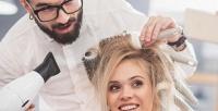 <b>Скидка до 62%.</b> Стрижка, окрашивание, укладка, мелирование, оформление бороды всалоне красоты UNO