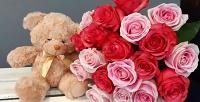 <b>Скидка до 58%.</b> Букет изкенийских роз, тюльпанов, цветочная композиция или подарочный набор