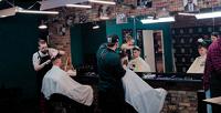 <b>Скидка до 50%.</b> Мужская, детская стрижка или оформление бороды вбарбершопе Big Bro
