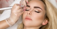 <b>Скидка до 60%.</b> Перманентный макияж или микроблейдинг бровей вкабинете коррекции бровей Belmuse