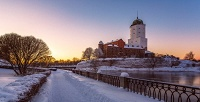 Однодневная зимняя экскурсия «Средневековый Выборг» оттуроператора «Хохлома тур» (996руб. вместо 2490руб.)