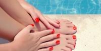 <b>Скидка до 66%.</b> Маникюр, педикюр, дизайн двух ногтей, наращивание ногтей впарикмахерской «Приятная встреча»