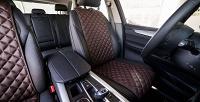 Защитные накидки изалькантары для сидений автомобиля (3300руб. вместо 5500руб.)