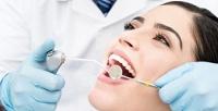 <b>Скидка до 87%.</b> УЗ-чистка, серебрение, отбеливание зубов или установка скайса встоматологической клинике «Жемчужина»