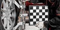 <b>Скидка до 70%.</b> Регулировка развала-схождения, диагностика ходовой части, замена масла вдвигателе, тормозных колодок икомпьютерная диагностика автомобиля вавтосервисе «АвтоАльянс»