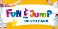 <b>Скидка до 50%.</b> День рождения вFun Jump спрограммой, аниматором или тренером, банкетной комнатой, праздничным меню ифотографом