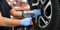 <b>Скидка до 50%.</b> Шиномонтаж колес радиусом отR13 доR19, ремонт шин, правка литых или штампованных дисков откомпании Bazil Avto