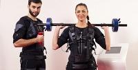 <b>Скидка до 61%.</b> До8персональных тренировок наEMS-тренажере отсети студийных тренировок Fit-n-Go
