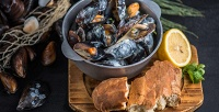 <b>Скидка до 52%.</b> Сет «Черноморские мидии», «Итальянские каникулы», «Средиземноморский» сет или «Море рядом...» вресторане средиземноморской кухни Porto Carras