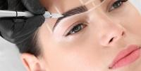 <b>Скидка до 83%.</b> Перманентный макияж бровей, век или губ, оформление икоррекция бровей вавторской студии Mari Stepanova
