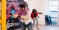 <b>Скидка до 52%.</b> 30минут игры вшлеме виртуальной реальности вклубе VR21