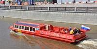 <b>Скидка до 55%.</b> Прогулка натеплоходе «Идегей» поМоскве-реке откомпании Boat-Tour