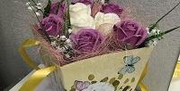 <b>Скидка до 58%.</b> До45ароматных роз вбукете измыла ручной работы вкрафтовой упаковке или подарочной коробке