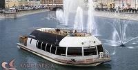 <b>Скидка до 52%.</b> Двухчасовая прогулка для одного, двоих либо троих поМоскве-реке натеплоходе премиум-класса «Мария Ермолова» собедом или ужином отсудоходной компании «Алые паруса»
